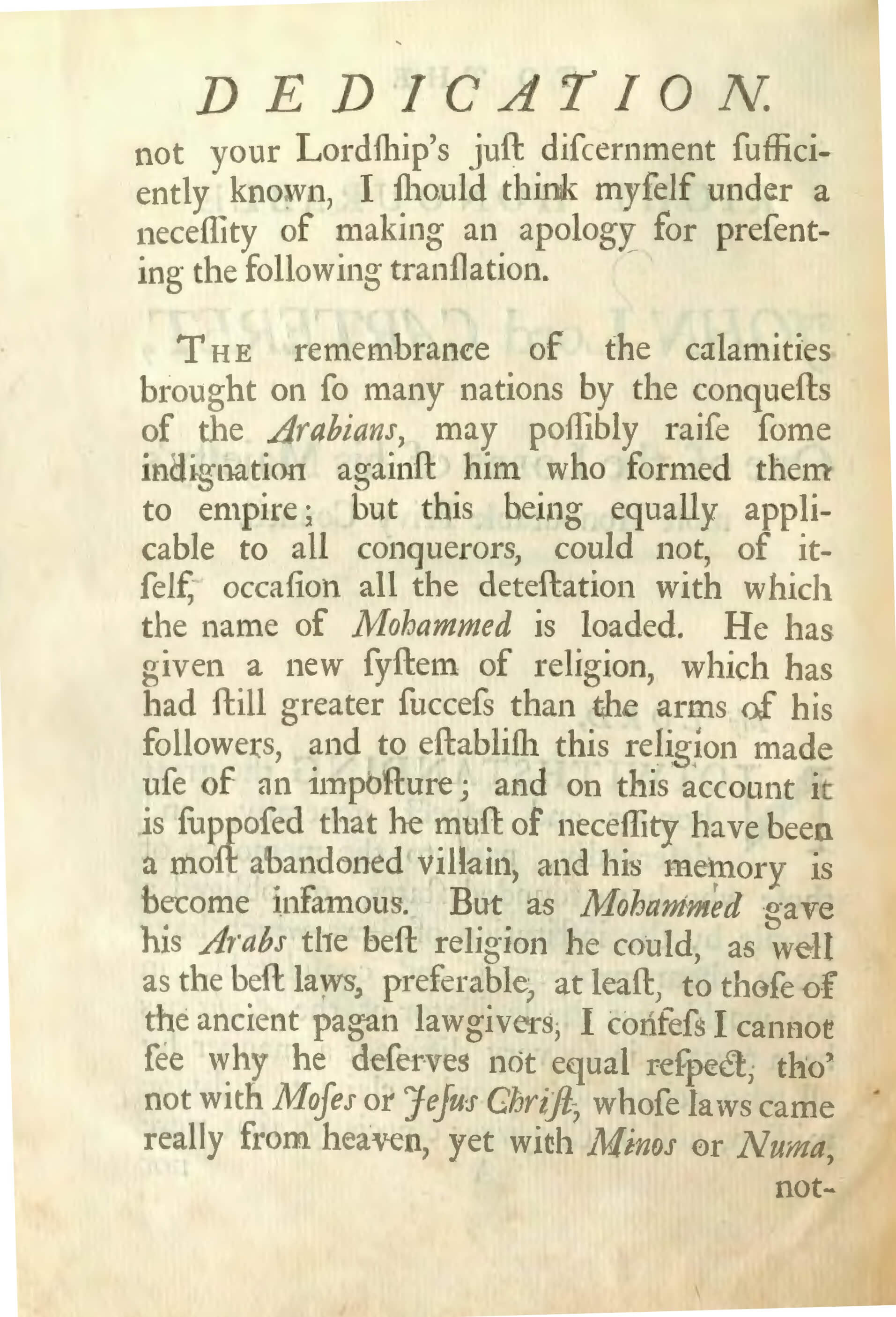George Sale 1734 Quran Explorer, Page 3
