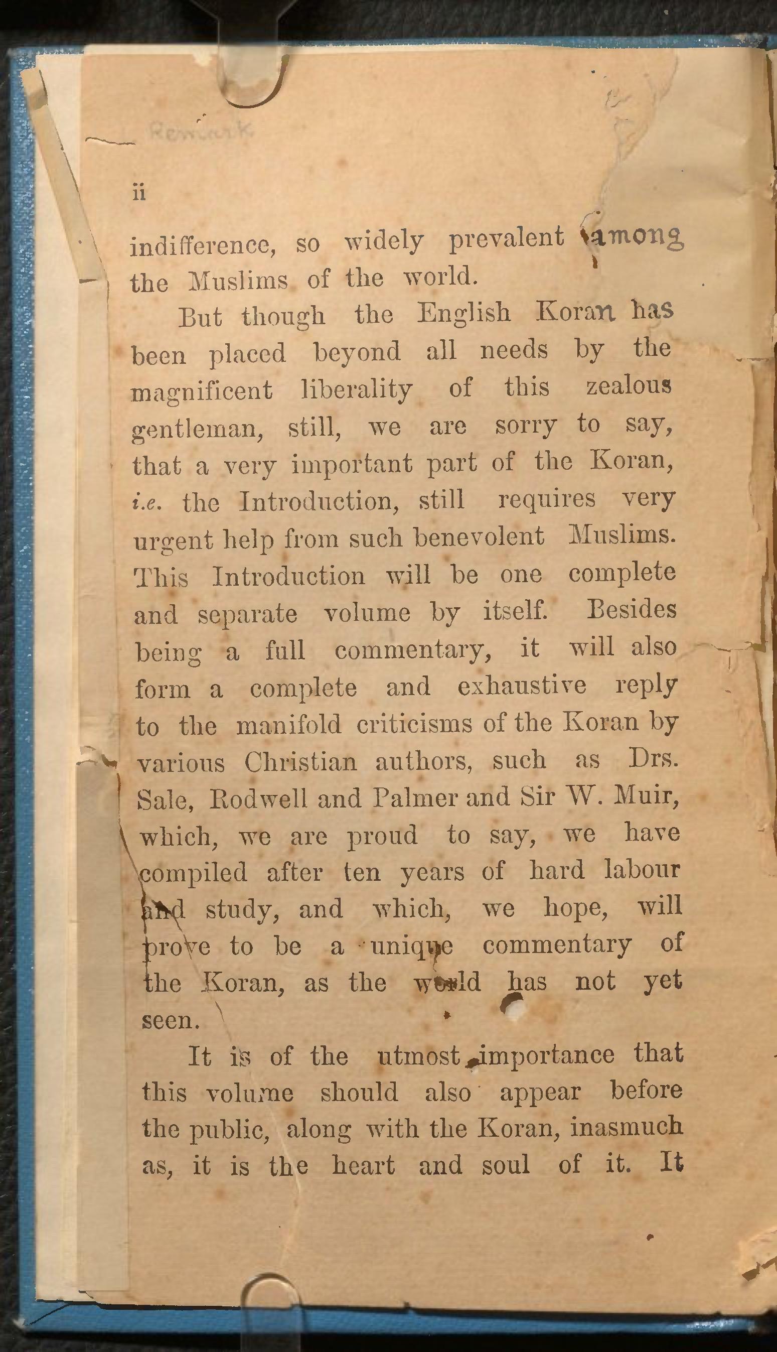 Hairat Dihlawi 1916 Quran Explorer, Page 3