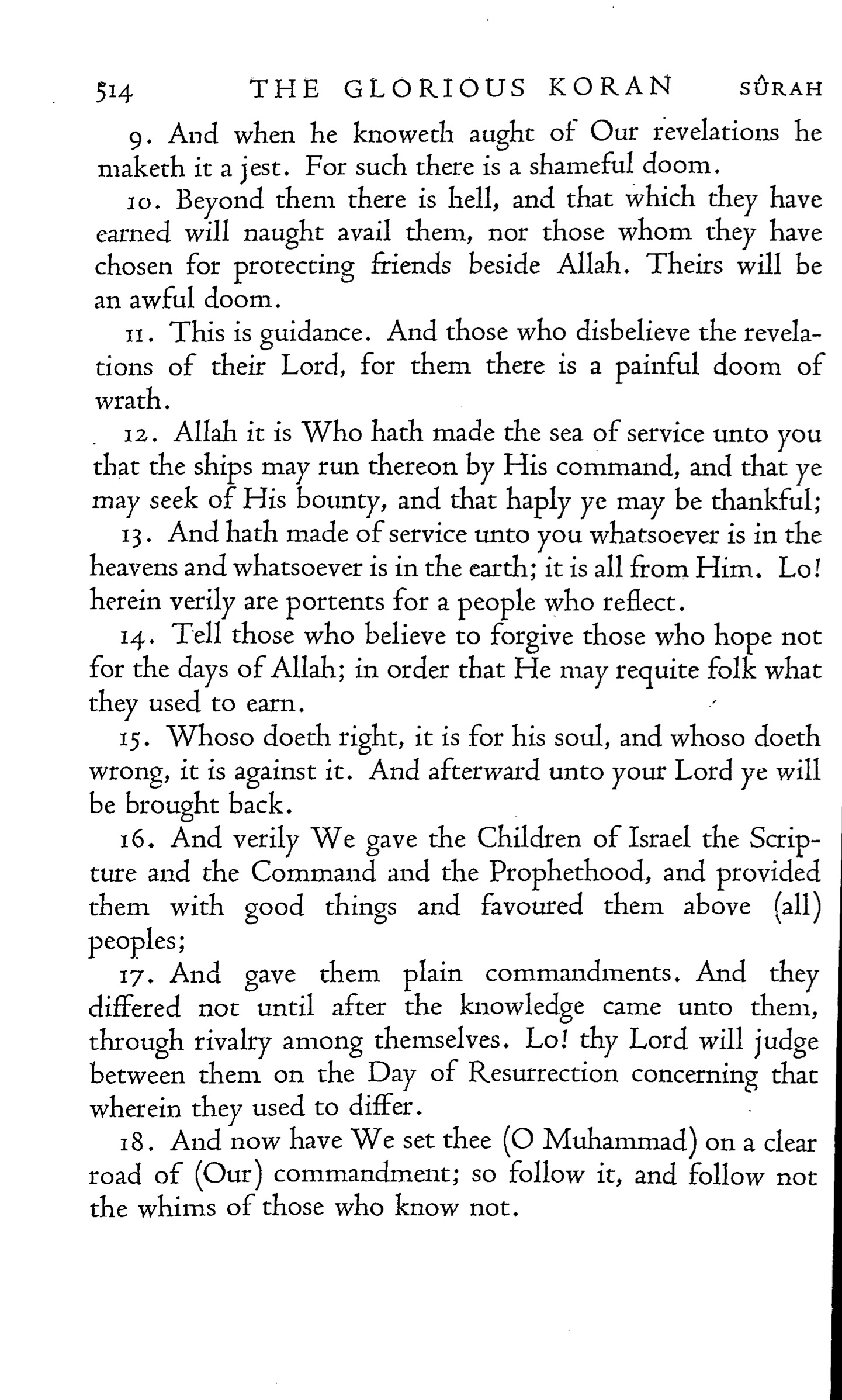 marmaduke pickthall quran translation (1930), page 520 | quran explorer, download and read now (pdf, html, ebook)